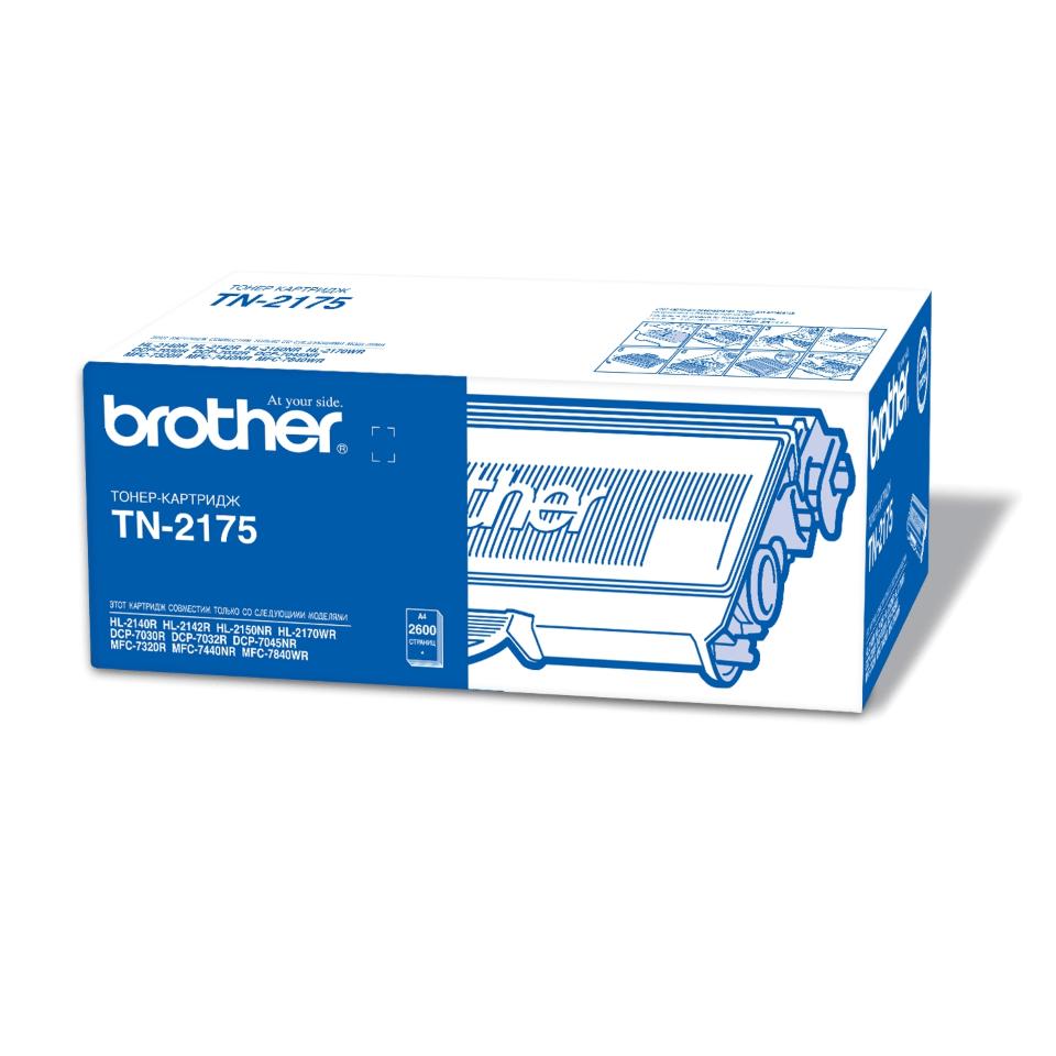 Оригинальный тонер-картридж Brother TN-2175