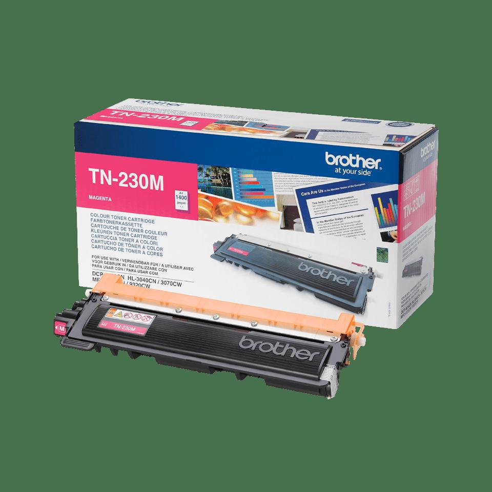 Оригинальный тонер-картридж Brother TN-230M – Пурпурный