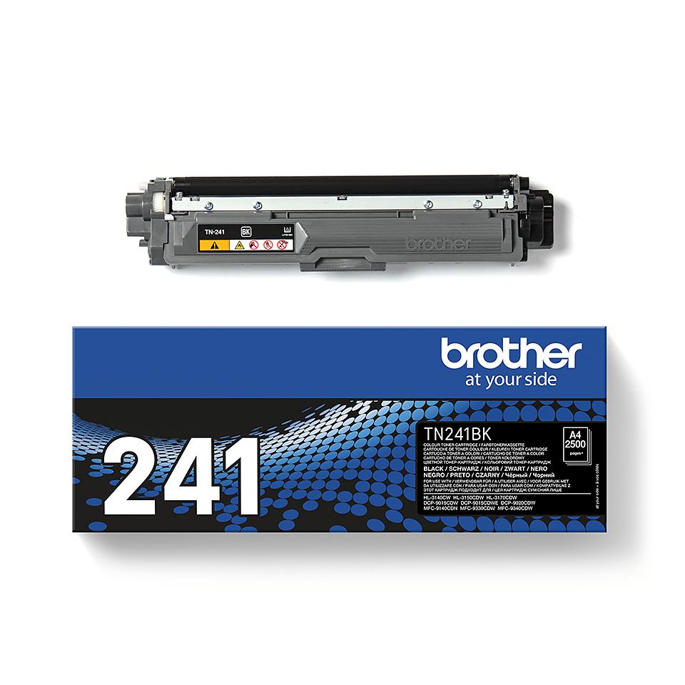 Оригинальный тонер-картридж Brother TN-241BK – Черный 2