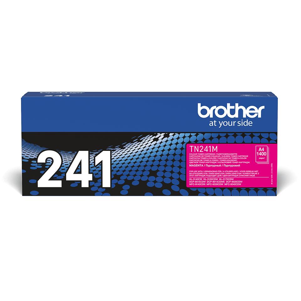 Оригинальный тонер-картридж Brother TN-241M – Пурпурный