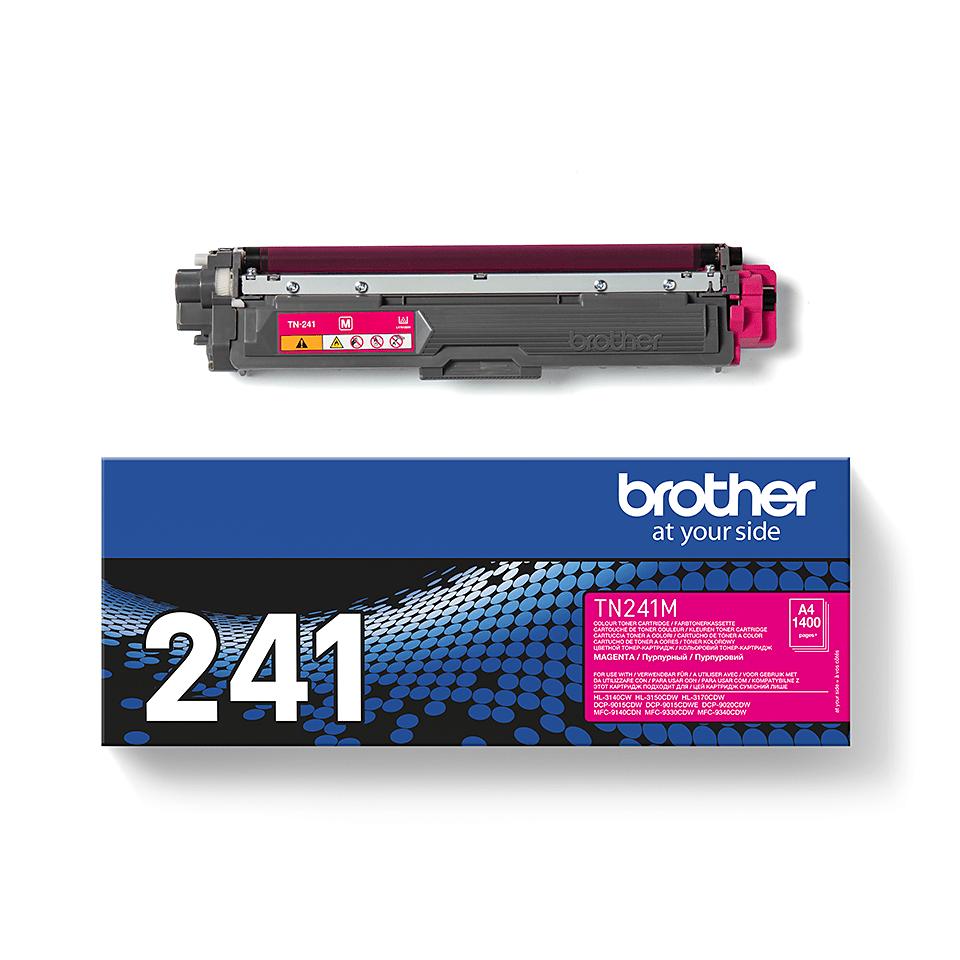 Оригинальный тонер-картридж Brother TN-241M – Пурпурный 1