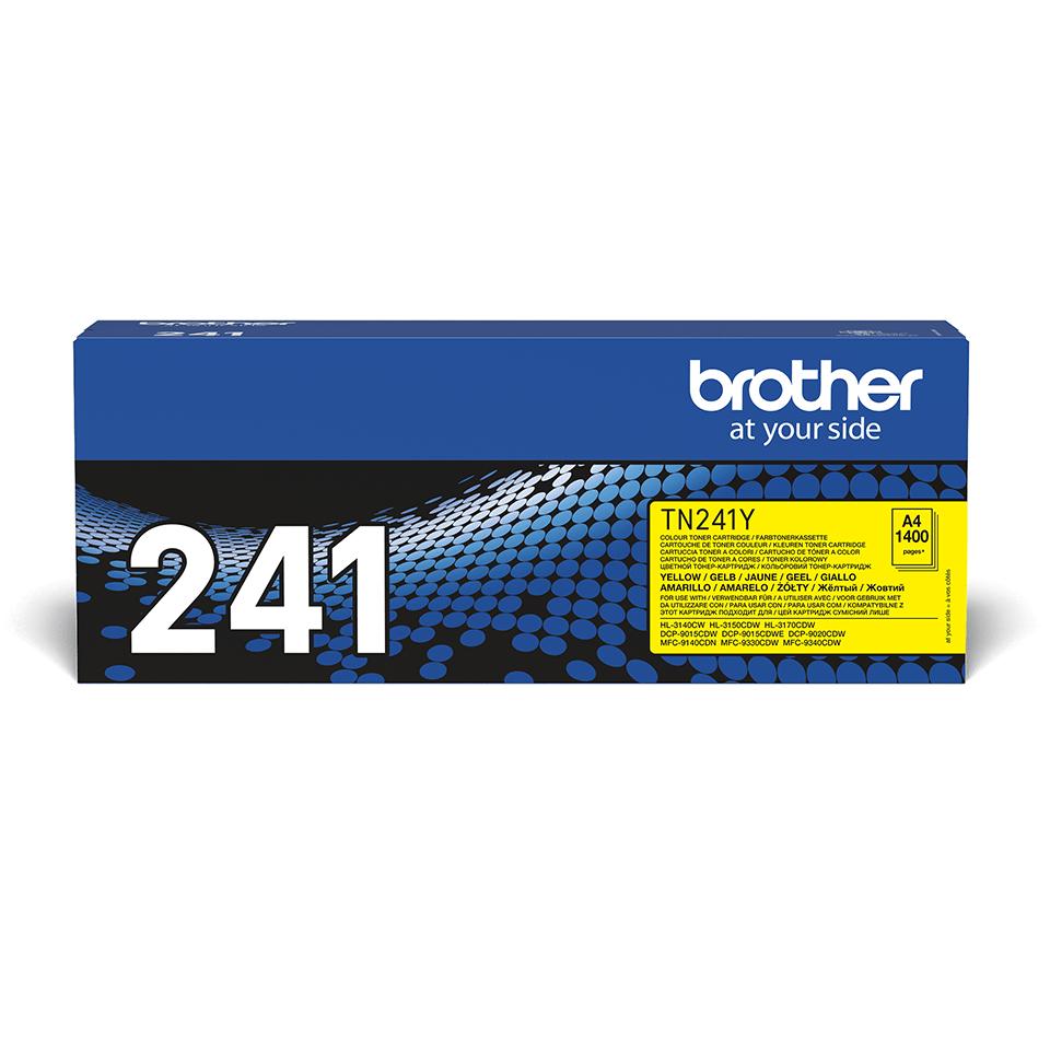 Оригинальный тонер-картридж Brother TN-241Y – Желтый 2