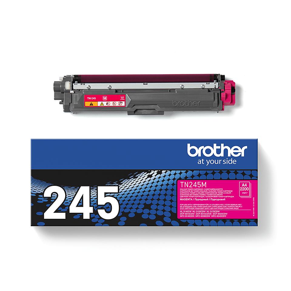 Оригинальный тонер-картридж Brother TN-245M – Пурпурный 2