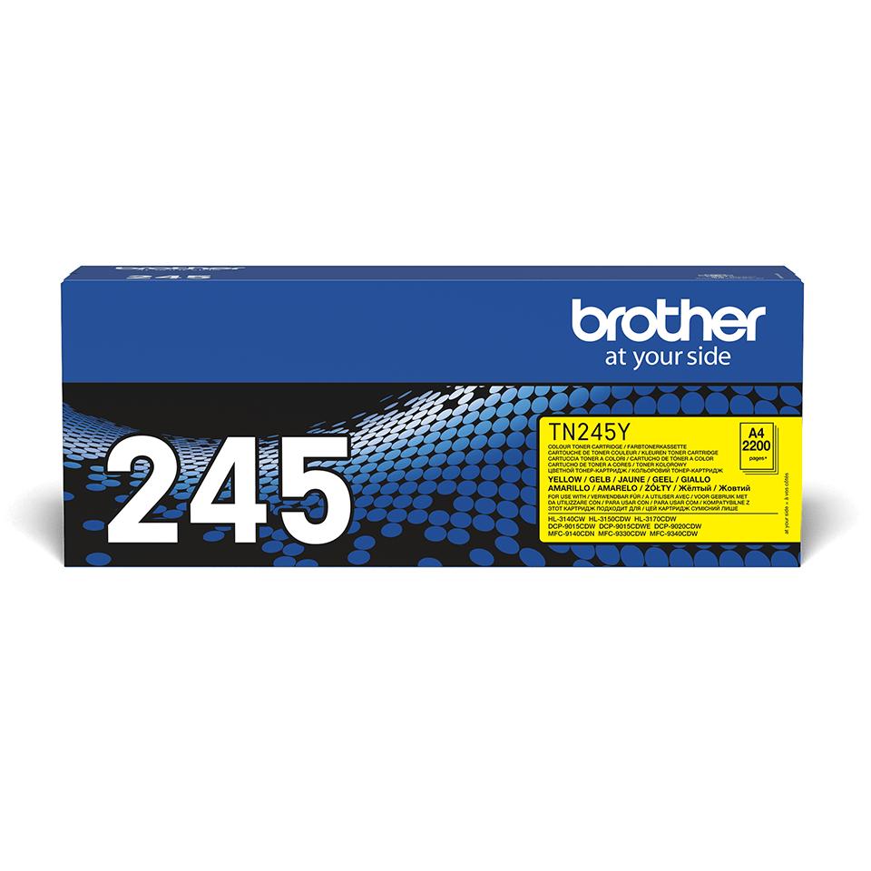 Оригинальный тонер-картридж Brother TN-245Y – Желтый 2