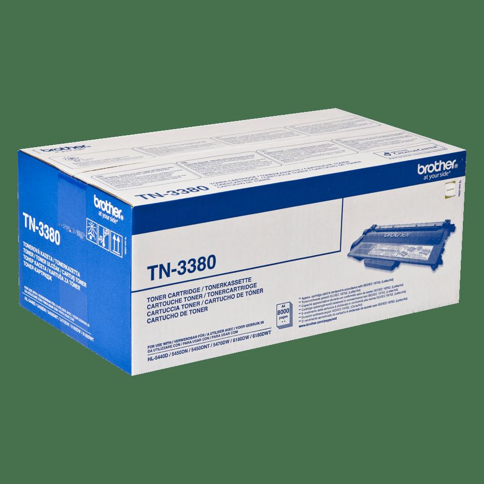 Оригинальный тонер-картридж Brother TN-3380 2