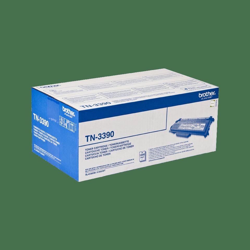 Оригинальный тонер-картридж Brother TN-3390 2