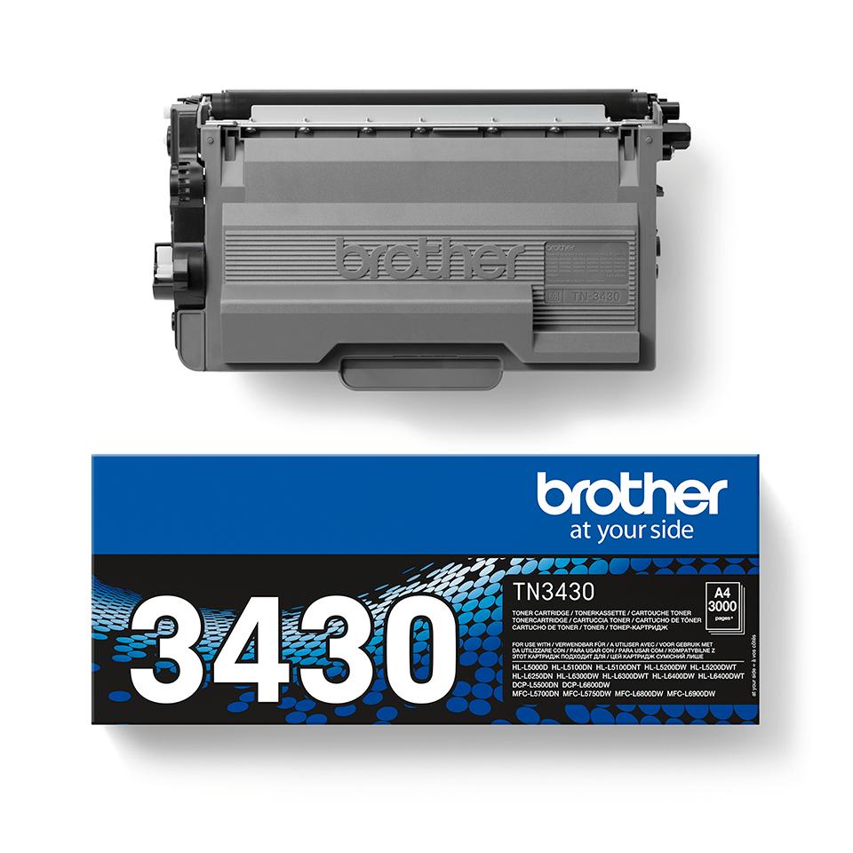 Оригинальный тонер-картридж Brother TN-3430 2