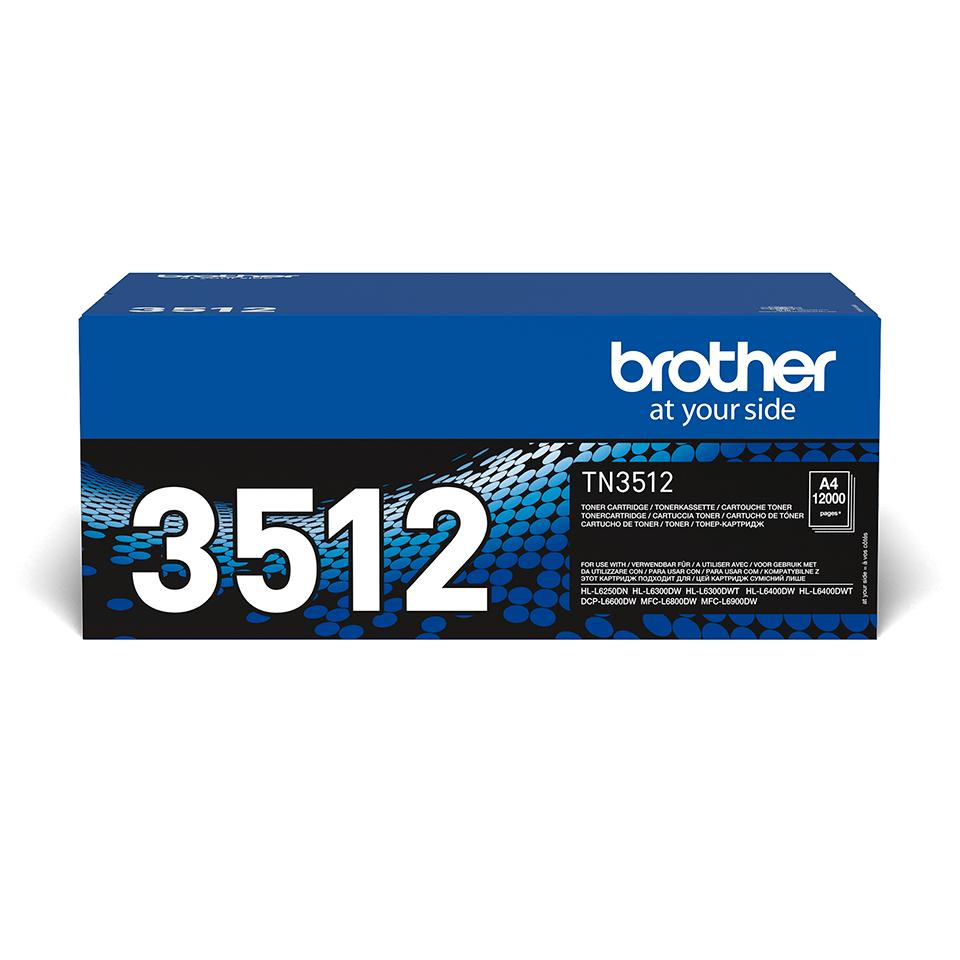 Оригинальный тонер-картридж Brother TN-3512