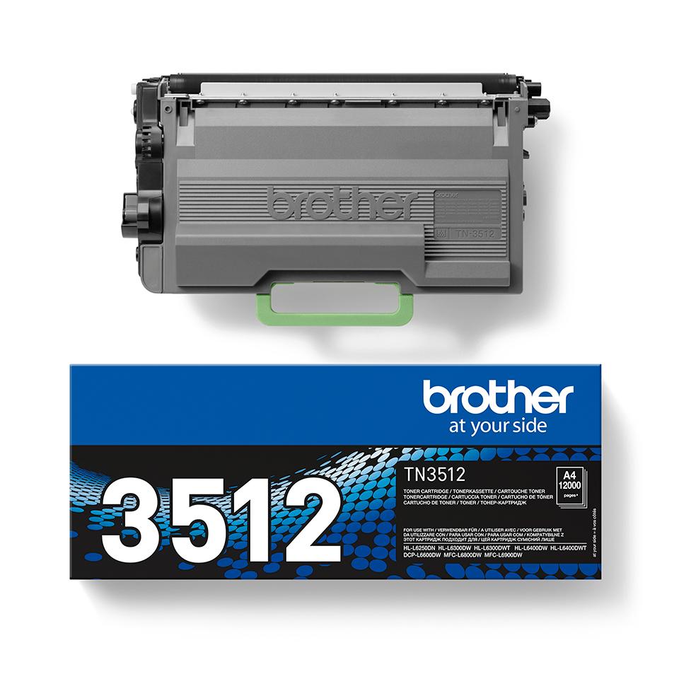 Оригинальный тонер-картридж Brother TN-3512 2