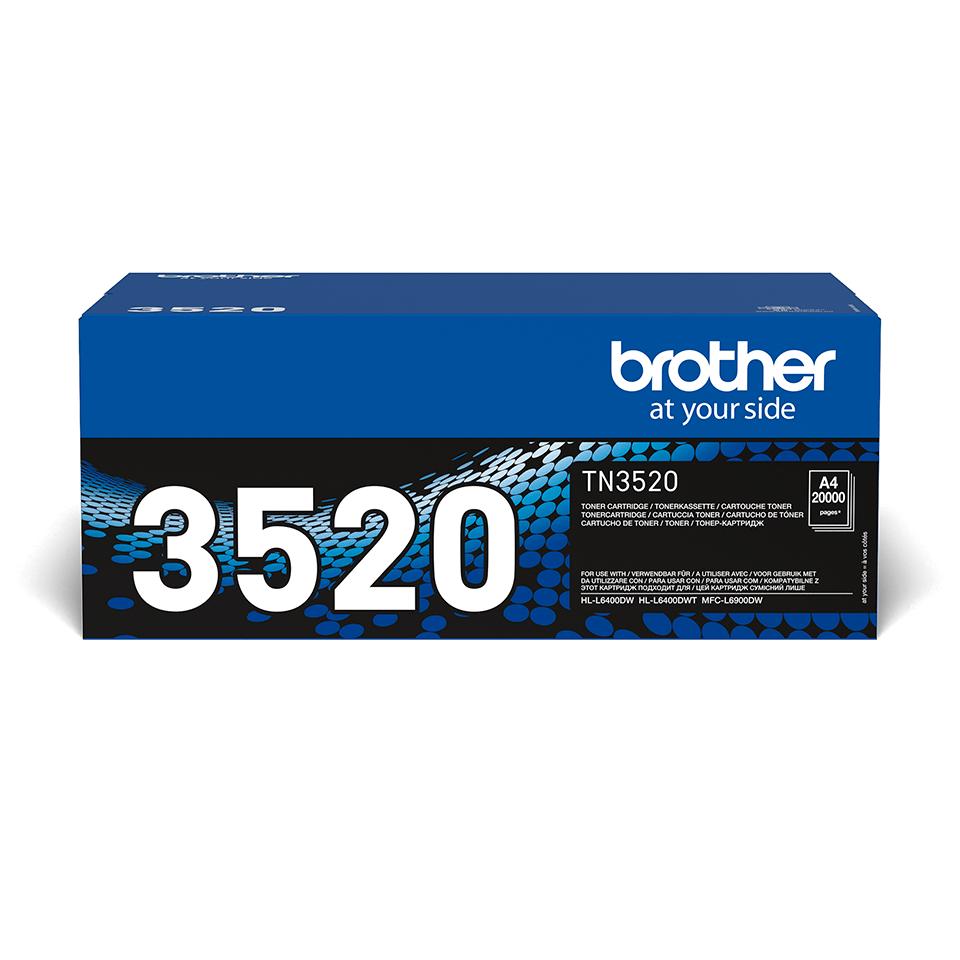 Оригинальный тонер-картридж Brother TN-3520
