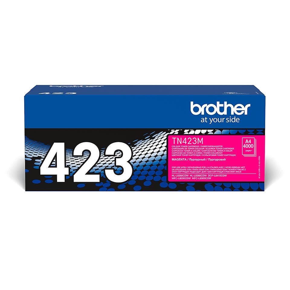 Brother TN-423M тонер-картридж - пурпурный 0