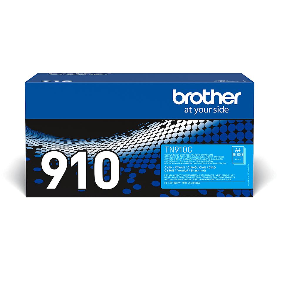 Brother TN-910C тонер-картридж - голубой