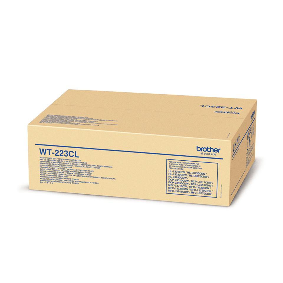 Brother WT220CL: оригинальный контейнер для отработанного тонера.