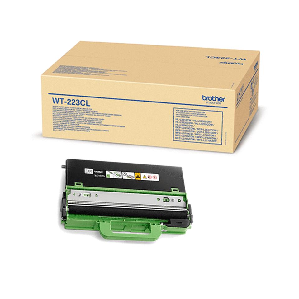 Brother WT220CL: оригинальный контейнер для отработанного тонера. 2