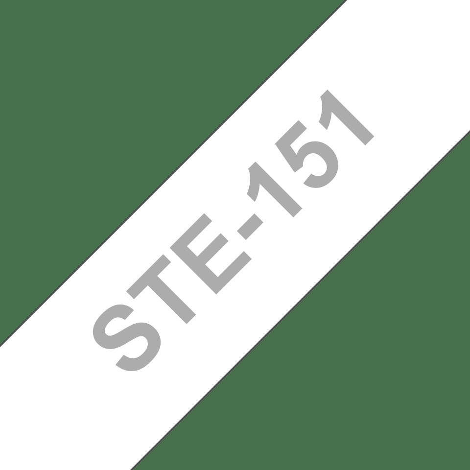 Brother STe151: оригинальная черная трафаретная лента, ширина: 24 мм.