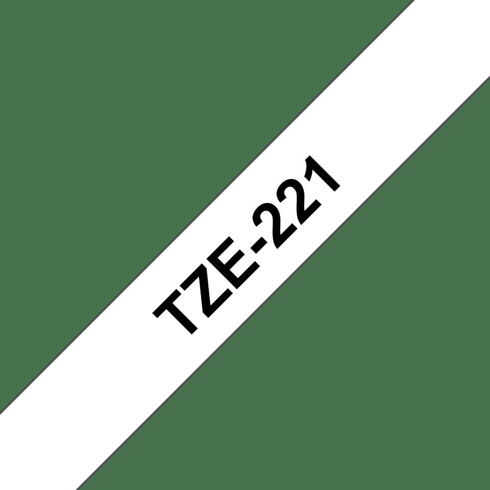 Оригинальная ламинированная лента Brother TZe-221 3