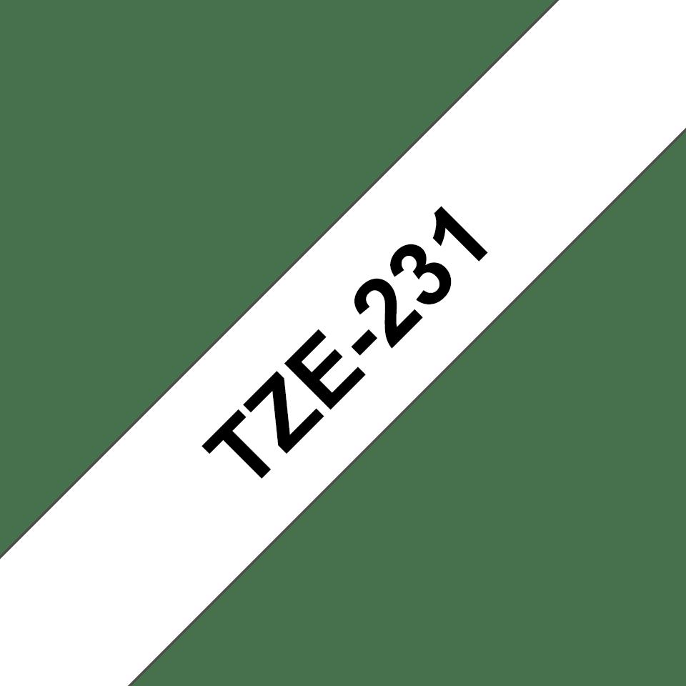 Оригинальная ламинированная лента Brother TZe-231 3