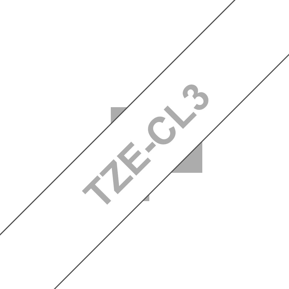 Brother TZeCL3: кассета с лентой для очистки печатающей головки, 12 мм. 3