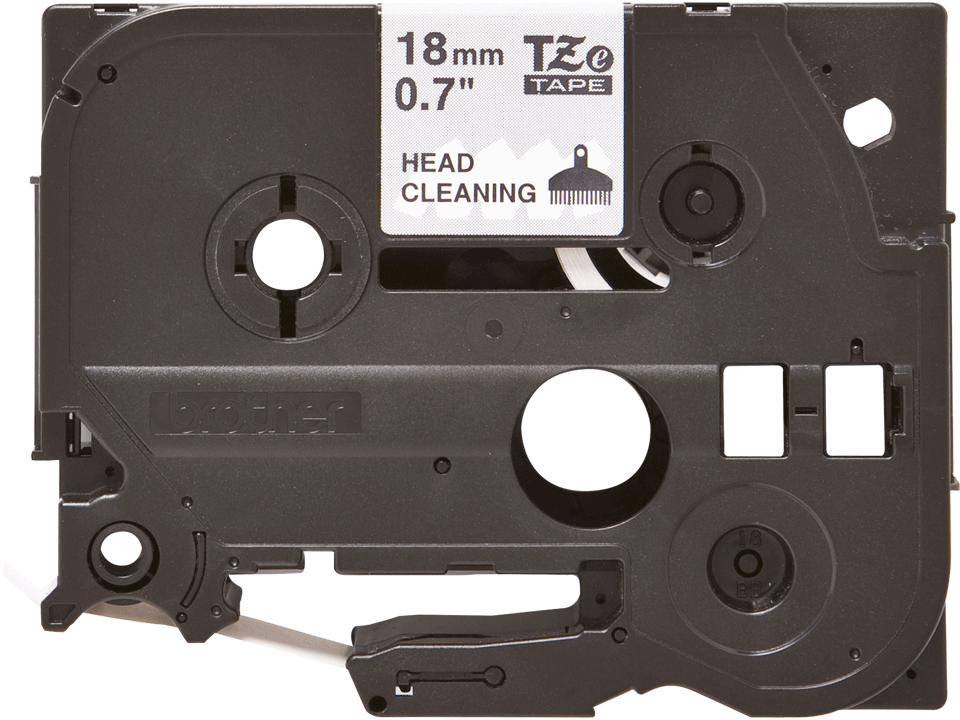 Brother TZeCL4: кассета с оригинальной лентой для очистки печатающей головки, 18 мм.