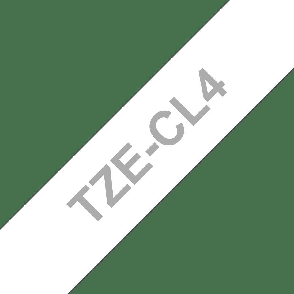 Brother TZeCL4: кассета с оригинальной лентой для очистки печатающей головки, 18 мм. 3
