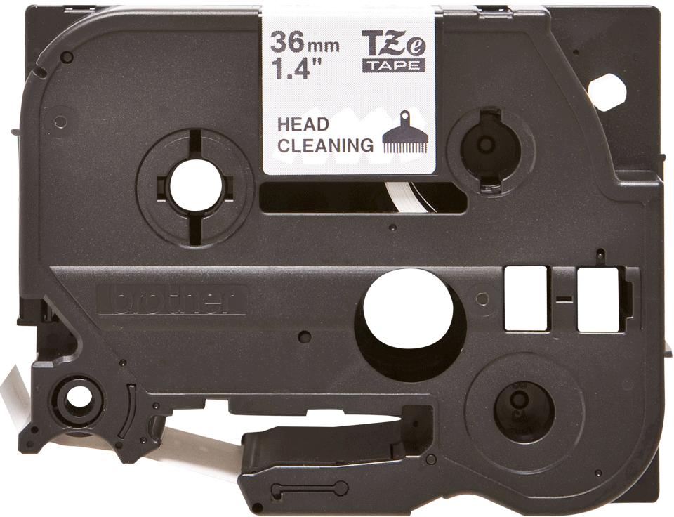 Brother TZeCL6: кассета с лентой для очистки печатающей головки, ширина: 36 мм.