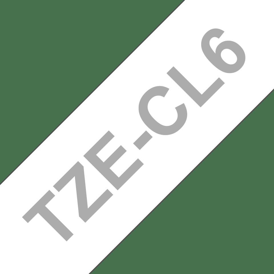 Brother TZeCL6: кассета с лентой для очистки печатающей головки, ширина: 36 мм. 3