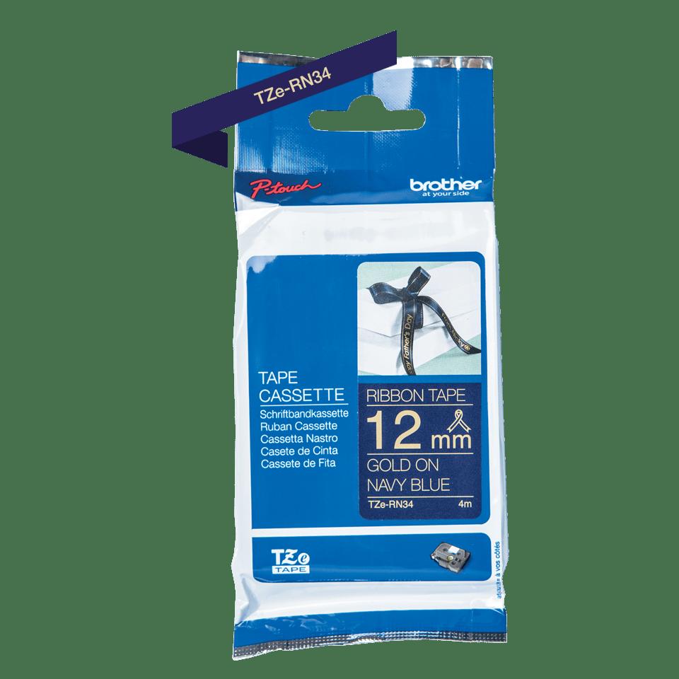 TZeRN34: оригинальная кассета с тканевой лентой