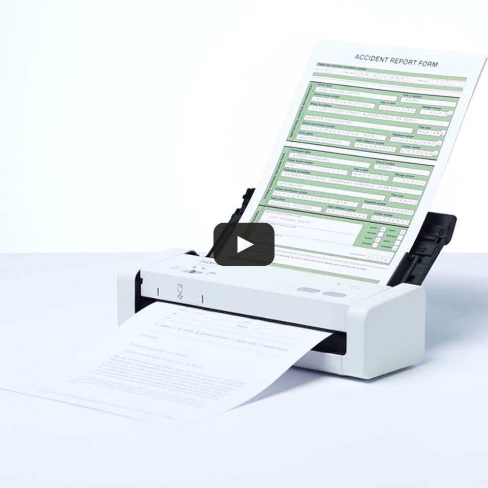 Компактный сканер документов ADS-1200 9